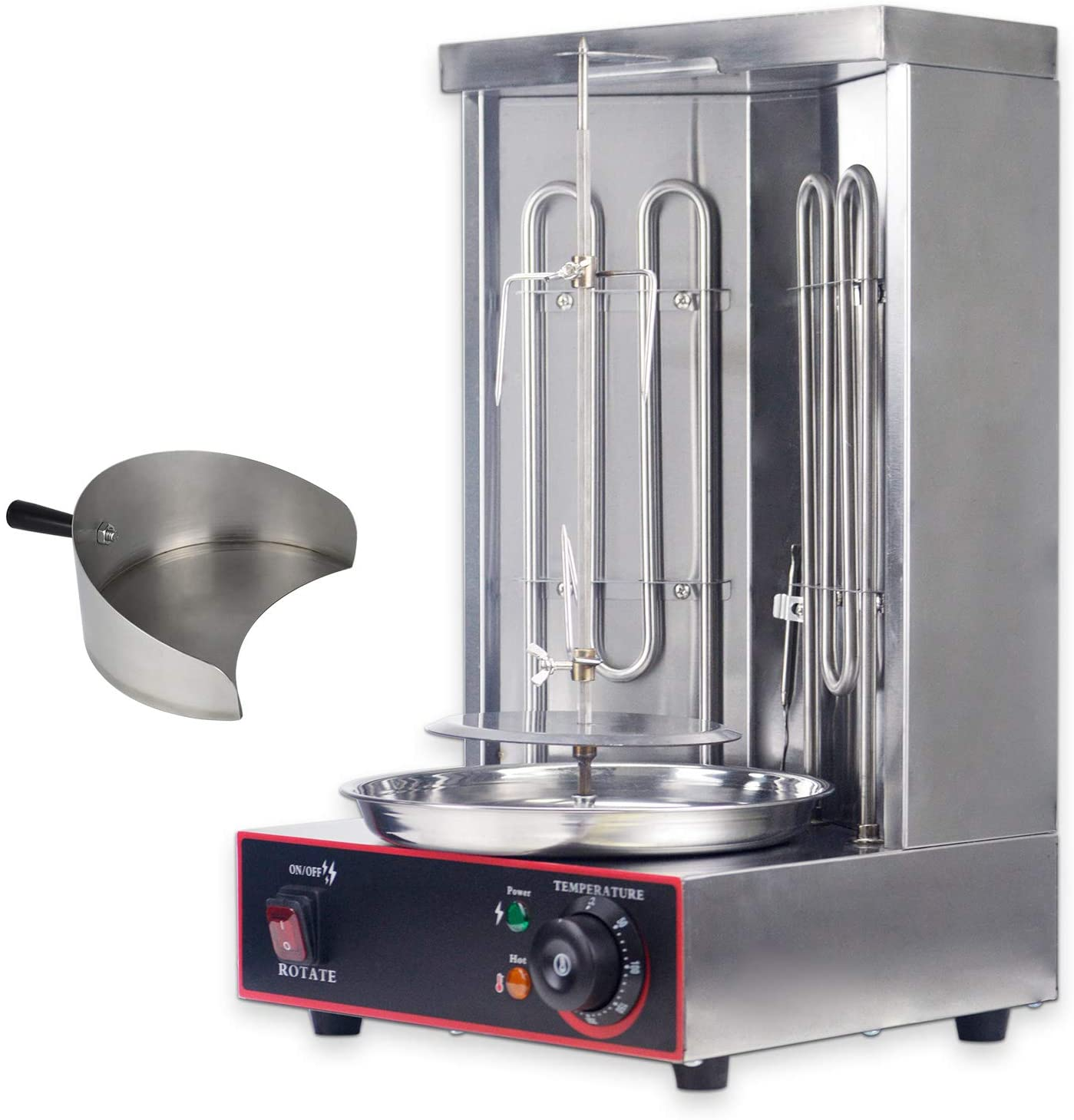 Nippon regular agency YOOYIST Electric Vertical Broiler Max 78% OFF Shawarma Doner Gyro Kebab Gril