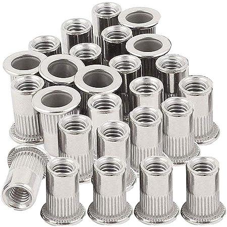 """16  UNCt Nutsert. Imperial Flange Nutserts Steel Rivnu x 100 3//8/"""""""