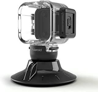 Polaroid Suction Cup Mount for the Polaroid CUBE, CUBE+ HD Action Lifestyle Camera - Includes Waterproof Case [並行輸入品]