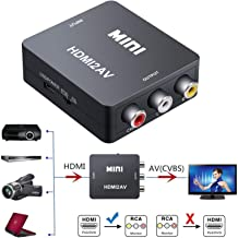 Best hdmi to composite s video converter 3rca Reviews
