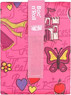Boc'n'Roll Kids Series - Princess Pink, is a foodwrap & ecofriendlywrap, reusablefoodwrap or ecowrap to wrap for food