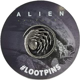 Alien Facehugger Pin