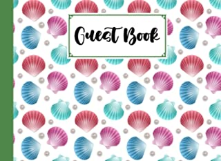 Guest Book: Guest Book shells Cover , Guest book for Your Birthday Party, Anniversary, Bridal Shower, Visitors - 150 Page...