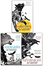 The Nevernight Chronicle Series 3 Books Collection Set by Jay Kristoff - Nevernight, Godsgrave, Darkdawn (Hardcover)