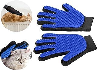 YXMxxm Guante para el Cuidado de Mascotas - Diseño de Cinco Dedos - Guante Suave y