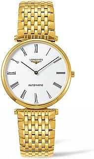 La Grande Classique - L4.908.2.11.8 - Yellow Gold PVD White Dial Automatic Men's