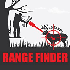 - Yardage to object clearly indicated on screen with this range finder app - Distance continually updates as you check ranges with this range finder for hunting - No calibration needed! Simply set your current height above ground and point for rangef...