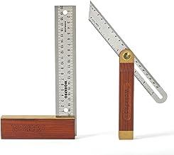 WORKPRO Aanslaghoek 200 mm T-smederij 230 mm verstelbaar hout met metaal