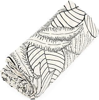 Drap Housse imprimé 180x200 cm 100% Coton Natura Ecru Bonnet 30 cm