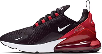 Nike Men's Air Max 270 Shoes - Black/White/Universityred,7.5M US