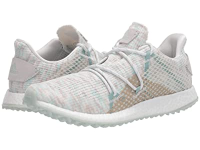 adidas Golf Crossknit DPR (Crystal White/Green Tint/Chalk White) Women