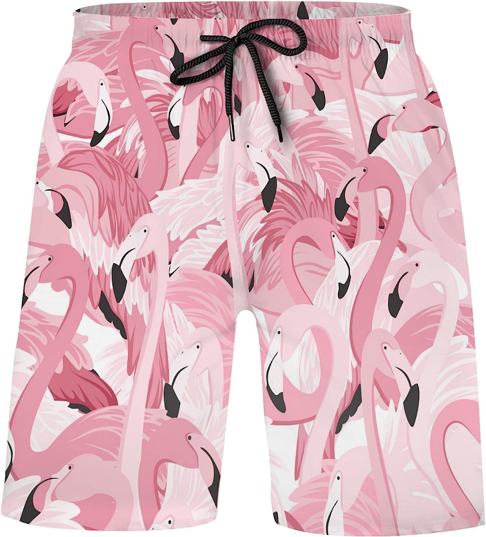 Pink Flamingo Exotic Bird Bathing Suits Tru Cash special price Mesa Mall Athletic Shorts Swim