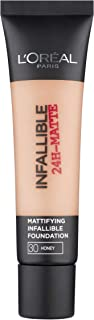 L'Oreal Paris Infallible 24HR Matte Face Foundation - 1.18 oz., 30 Honey