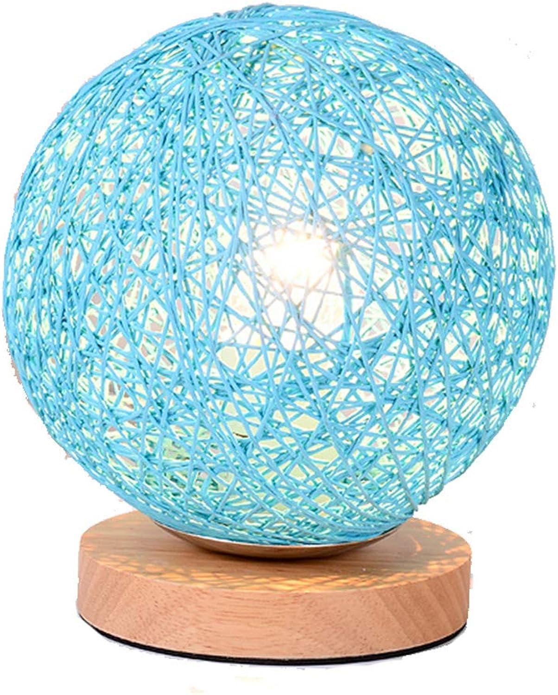 LEBAO-table lamp Tischlampe Schreibtischlampe-Mode Moderne Schlafzimmer Kreative warme Massivholz nachtdekoration Licht Buch Zimmer [Energieklasse A ++]