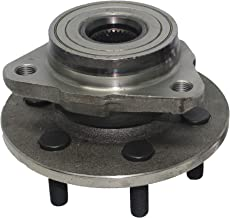 Detroit Axle - Front Wheel Hub and Bearing Assembly - Driver or Passenger Side fits 4x4 Only no ABS - 1997-2004 Dodge Dakota - [98-03 Dodge Durango]