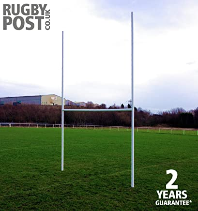 1e7bece06 Mini Rugby Goal post - High impact uPVC - adjustable crossbar height -  Total height 4.72