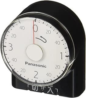 パナソニック ダイヤルタイマー 3時間形・コンセント直結式 ブラック WH3201BP