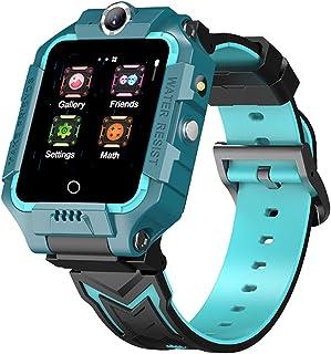 SIWEI Orologio intelligente per bambini 4G Localizzatore di posizionamento GPS Orologio intelligente per bambini Wifi Vide...