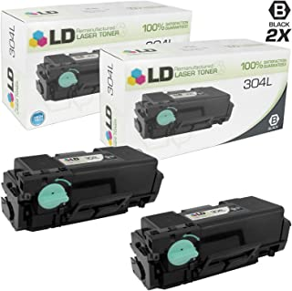 LD Remanufactured Toner Cartridge Replacement for Samsung 304L MLT-D304L High Yield (Black, 2-Pack)