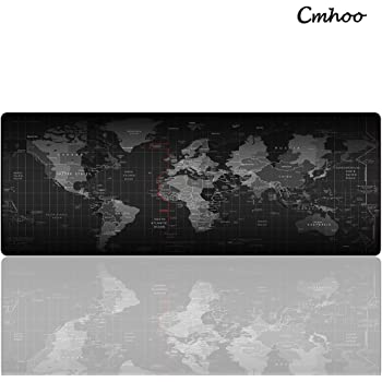 Cmhoo XL Large Mouse Pad & Computer Gaming Mouse Mat Desk Pad (8030 Map)