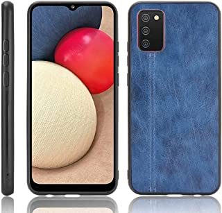 جراب هاتف خلوي FTRONGRT لجراب Oppo A15s، جراب واقٍ ملفوف من الجلد من البولي كربونات، مضاد للإسقاط، مناسب لهاتف Oppo A15s ج...