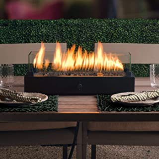 two harbors rectangle tabletop fire pit