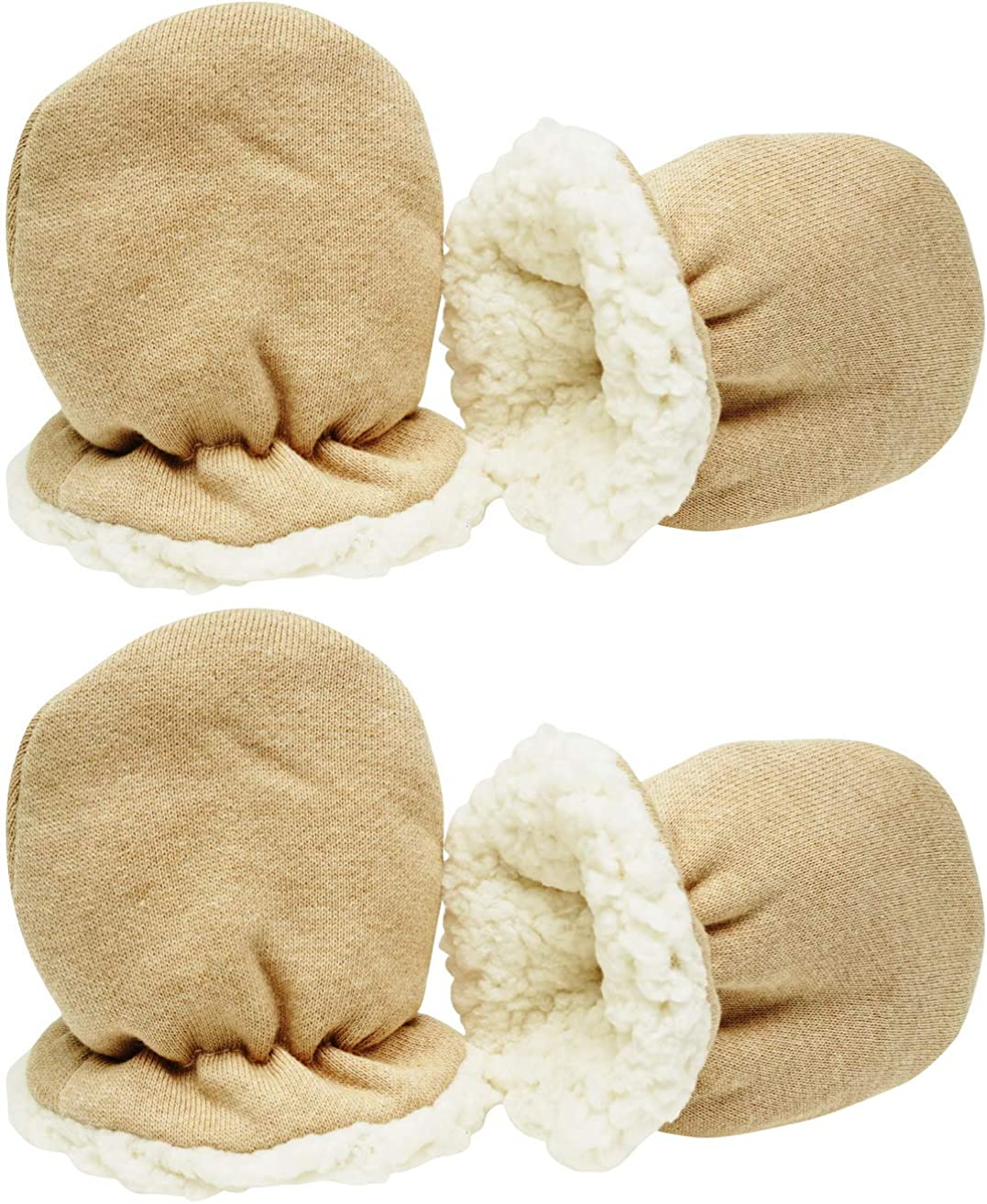 Winter Baby Mittens with Warm Sherpa Lined Fleece 0-24 Months