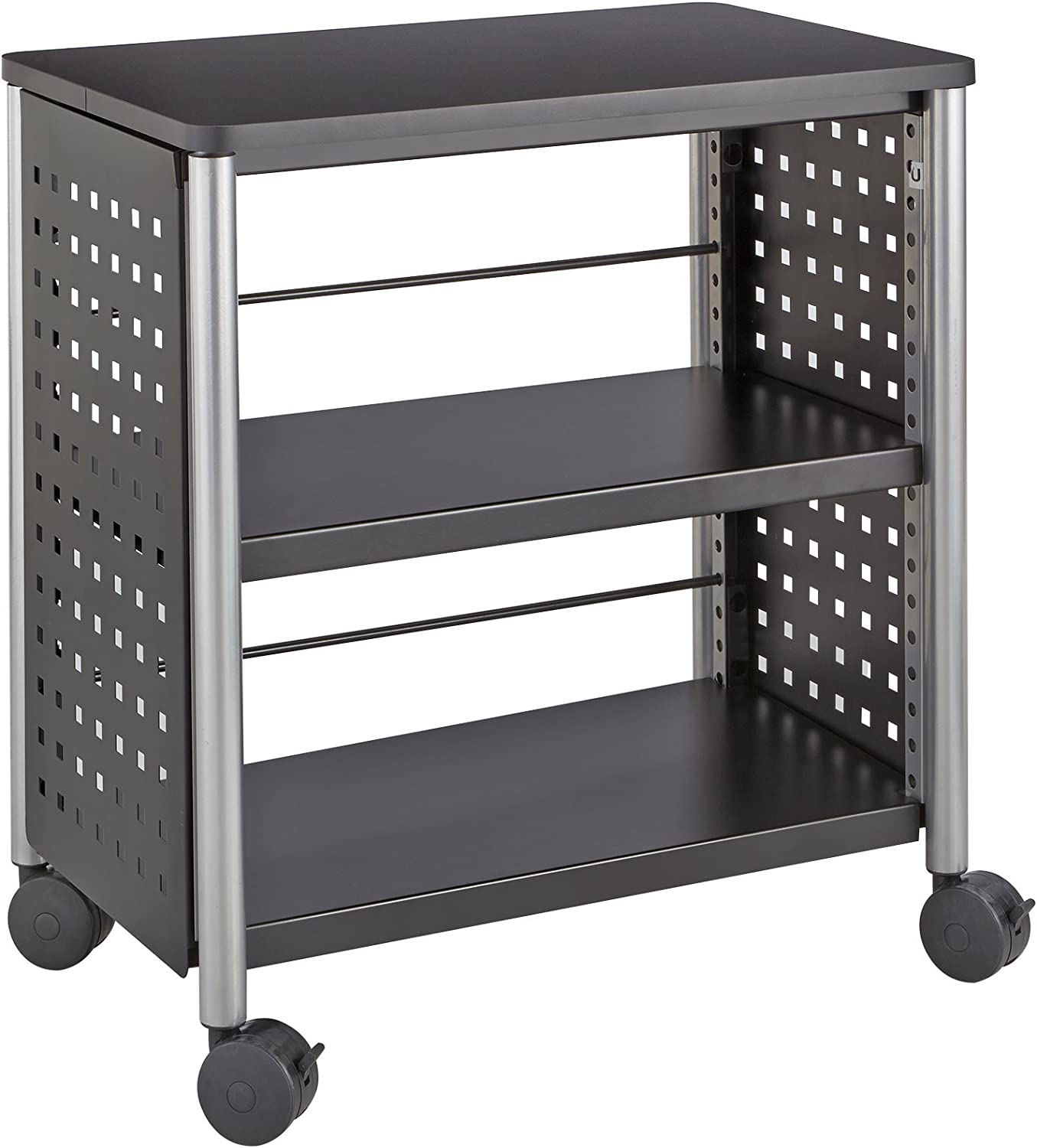 Safco Products 1604BL Scoot Personal Bookcase, Black