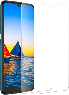 ROVLAK pansarglas för Alcatel 3X (2020) skyddsfilm [2-pack] 9H skärmskydd HD klar film bubbelfritt skyddsglas reptålig ant...