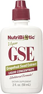 NutriBiotic, GSE, (2 Pack) Grapefruit Seed Extract, Liquid Concentrate, 2 fl oz (59 ml)
