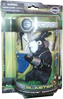 G-Force Movie Toy 5 Inch Action Figure Blaster (Hook, Spear and Net) by SCS