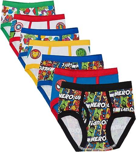 Marvel Hero Toddler Boy Briefs in 7pk