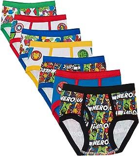 Boys' Toddler 7-Pack Superhero Adventures Brief Underwear