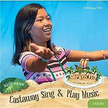 VBS-Shipwrecked-Castaway Sing & Play Music Leader CD Set (Dec)