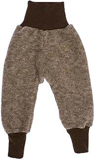Cosilana, spodnie z polaru dla niemowląt, 60% wełna (organiczna), 40% bawełna (organiczne)