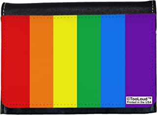 TooLoud Rainbow Vertical Gay Pride Flag Ladies Wallet All Over Print