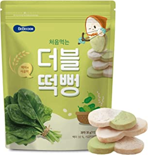 BeBecook My First Duo-Flavour Rice Rusk, Spinach, 30 g