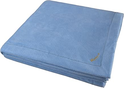 Ultra-Soft Sobellux Fleece Blanket, 100% Spun Poly For Plush Comfort, (