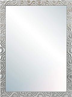 Chely Intermarket Espejo de Pared Cuerpo Entero 60X80 cm(69x89cm)/Plata-Plateada/Mod-144 Ideal para peluquerías salón ...