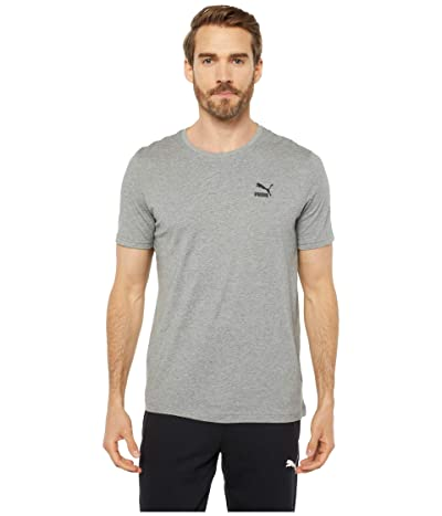 PUMA Streetwear Graphic Tee (Medium Gray Heather) Men