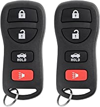SaverRemotes for 2002-2006 Nissan Altima Maxima Keyless Entry Remote Control Car Key Fob Replacement for KBRASTU15 (Pack of 2)