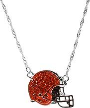 Siskiyou NFL Womens Crystal Logo Necklace