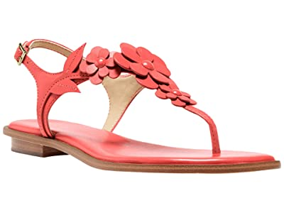 MICHAEL Michael Kors Flora Thong (Pink Grapefruit) Women