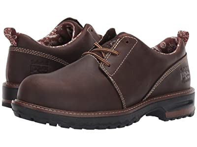 Timberland PRO Hightower Oxford Composite Safety Toe (Kaffe Full Grain Leather) Women