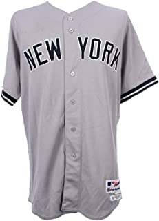 2012 Mark Teixeira New York Yankees Game Used Jersey MLB & Authenticated - Steiner Sports Certified - MLB Game Used Jerseys