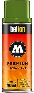 Molotow Belton Premium Artist Spray Paint, 400ml Can, Fern Green, 1 Each (327.142)