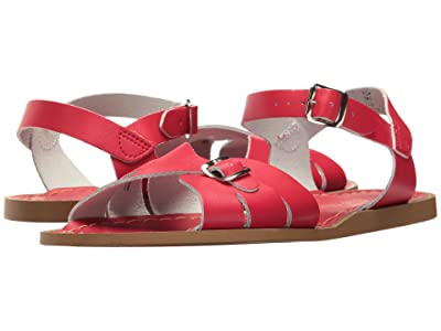 Salt Water Sandal by Hoy Shoes Classic (Big Kid/Adult) (Red) Girls Shoes