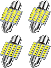 MINYE 4pcs 31MM Festoon LED Bulb CAN-Bus Error Free 211-2 212-2 569 578 Xenon White 3014 Chipsets for Car Interior Dome Lights Pack of 4