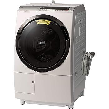 日立 ドラム式洗濯乾燥機 ビッグドラム 洗濯11kg 左開き 日本製 液体洗剤・柔軟剤自動投入 BD-SX110CL N ロゼシャンパン