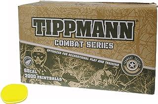 GI Sportz TIPPMANN Combat Series Paintballs Case of 2000 Rounds